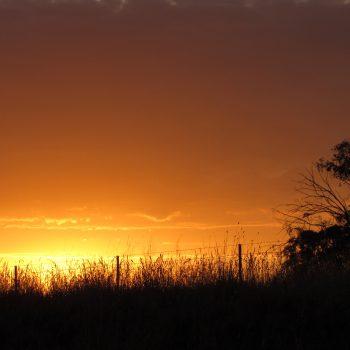 Sun rise at 2CR